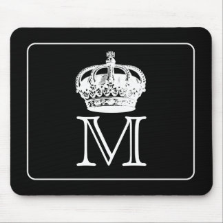 Crown Monogram Mouse Pad