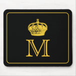 Crown Monogram Mouse Pad