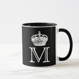Crown Monogram Mug