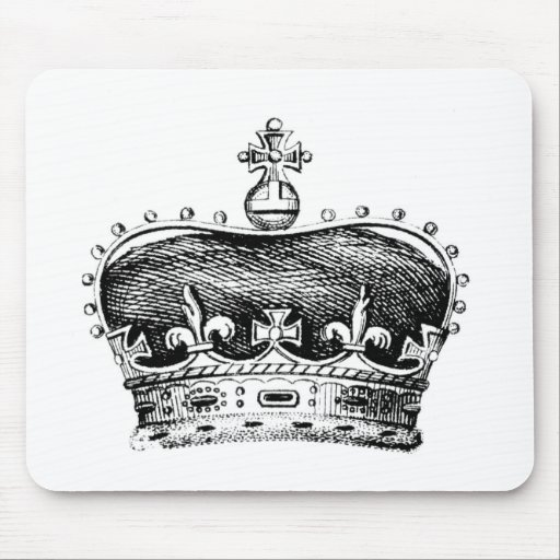 Crown Mouse Pad