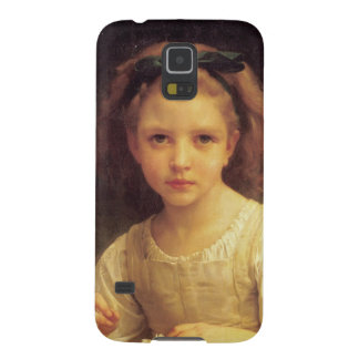 Crown of grass flower galaxy s5 cover