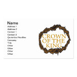 Crown Of The King Business Card Templates