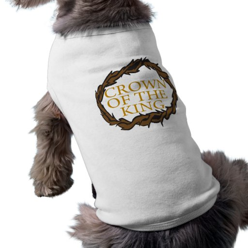 Crown Of The King Doggie Tshirt