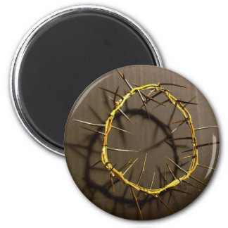 Crown of Thorns 2 Inch Round Magnet