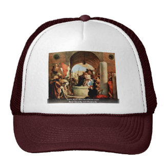 Crown Of Thorns By Tiepolo Giovanni Battista Hats