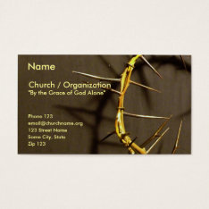 Crown Of Thorns Card Ii at Zazzle