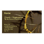 Crown of Thorns Card II Double-Sided Standard Business Cards (Pack Of 100)