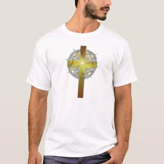 Crown of thorns cross T-Shirt