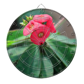 Crown of Thorns Dartboard With Darts