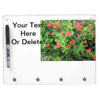 Crown of Thorns Dry Erase Board With Keychain Holder
