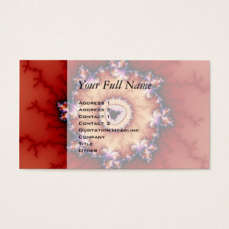 Crown Of Thorns - Fractal Business Card