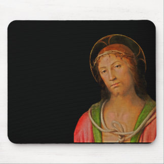 Crown of Thorns Jesus Mouse Pad