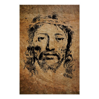 Crown Of Thorns Jesus Poster
