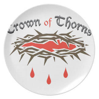 Crown of Thorns Plate
