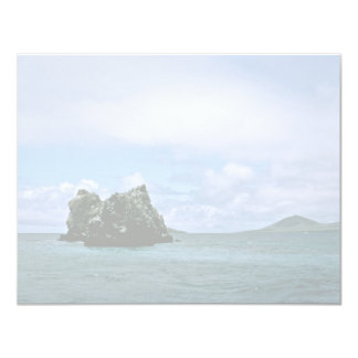 Crown of Thorns Reef, Galapagos Isl. 4.25x5.5 Paper Invitation Card