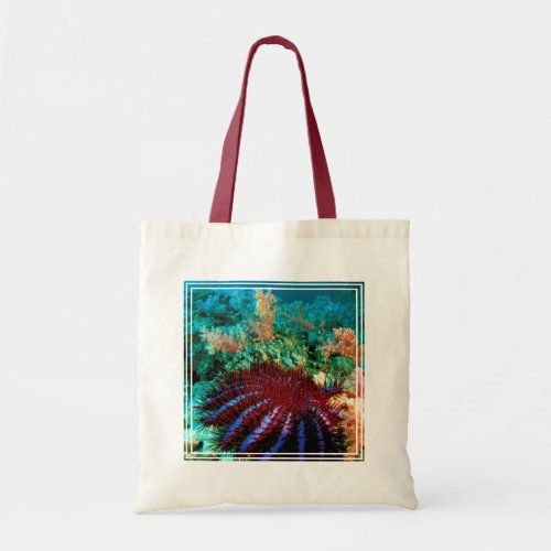 Crown_Of_Thorns Starfish Tote Bag