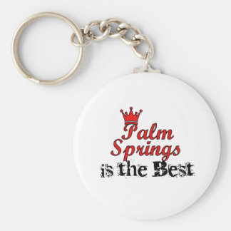 Crown Palm Springs Keychain