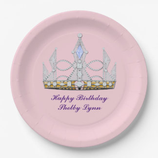 Crown Paper Plate