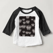 crown pattern baby T-Shirt
