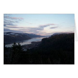 Crown Point and the Columbia River Gorge Card