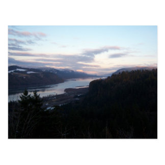 Crown Point and the Columbia River Gorge Postcard