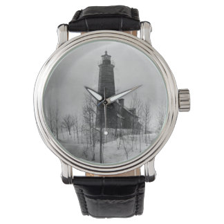 Crown Point Lighthouse Wristwatches