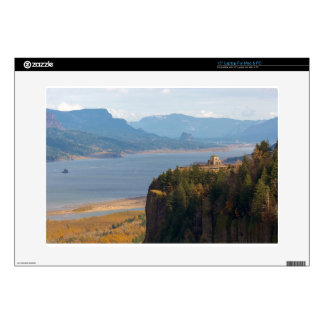 Crown Point on Columbia River Gorge OR Laptop Skins