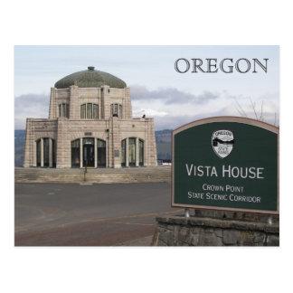 Crown Point, Oregon Travel Postcard