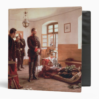 Crown Prince Frederick by the corpse 3 Ring Binder