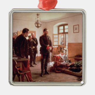 Crown Prince Frederick by the corpse Christmas Ornaments