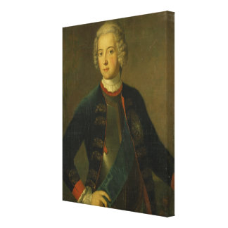 Crown Prince Frederick II, 1728 Stretched Canvas Print