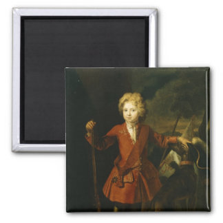 Crown Prince Frederick William I 2 Inch Square Magnet
