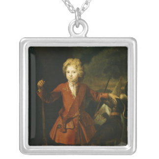 Crown Prince Frederick William I Silver Plated Necklace