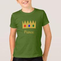 Crown Prince Jewels Brush Brushstroke Script T-Shirt