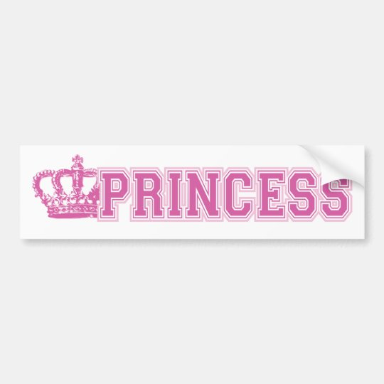 Crown Princess Bumper Sticker