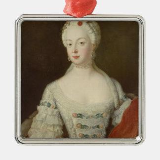 Crown Princess Elisabeth Christine von Preussen Metal Ornament