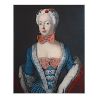 Crown Princess Elisabeth Christine von Preussen Poster