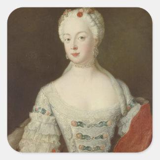 Crown Princess Elisabeth Christine von Preussen Square Sticker