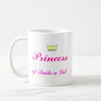 Crown, Princess, of Quite a Lot Classic White Coffee Mug