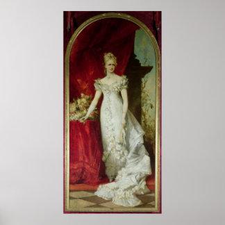 Crown Princess Stephanie of Belgium Poster