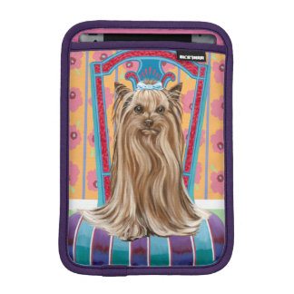Crown Princess Yorkie iPad Mini Sleeve