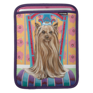 Crown Princess Yorkie Sleeve For iPads