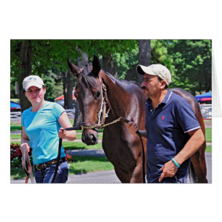 Crown Queen - Half sister to Royal Delta Greeting Card