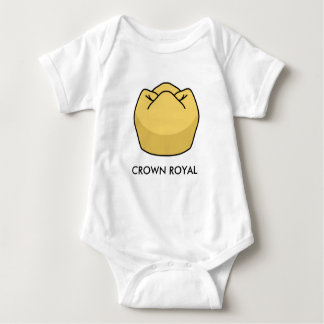 """""""Crown Royal"""" Baby Onsie Shirt"""