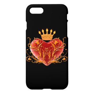 Crown Royal Heart iPhone 7 Case