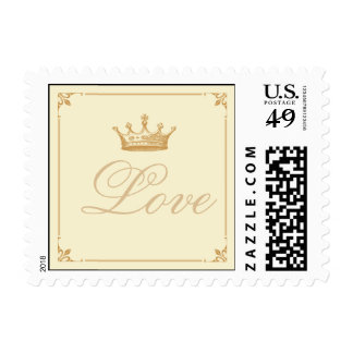 Crown Royal in Gold and Ivory Love Stamp