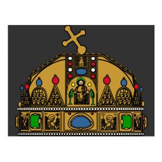 Crown Saint Stephen, Hungary Postcards