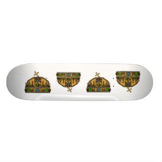 Crown Saint Stephen, Hungary Skate Board Deck
