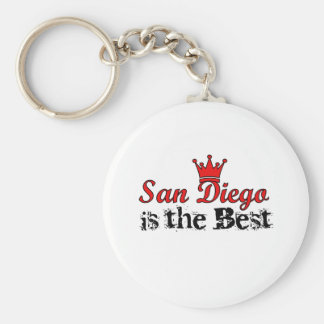 Crown San Diego Key Chains