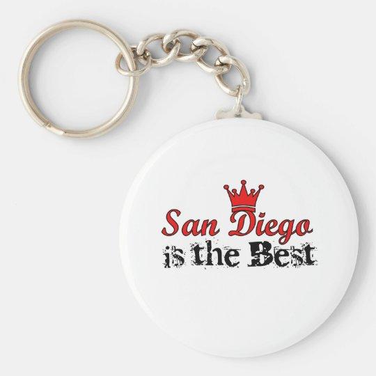 Crown San Diego Keychain